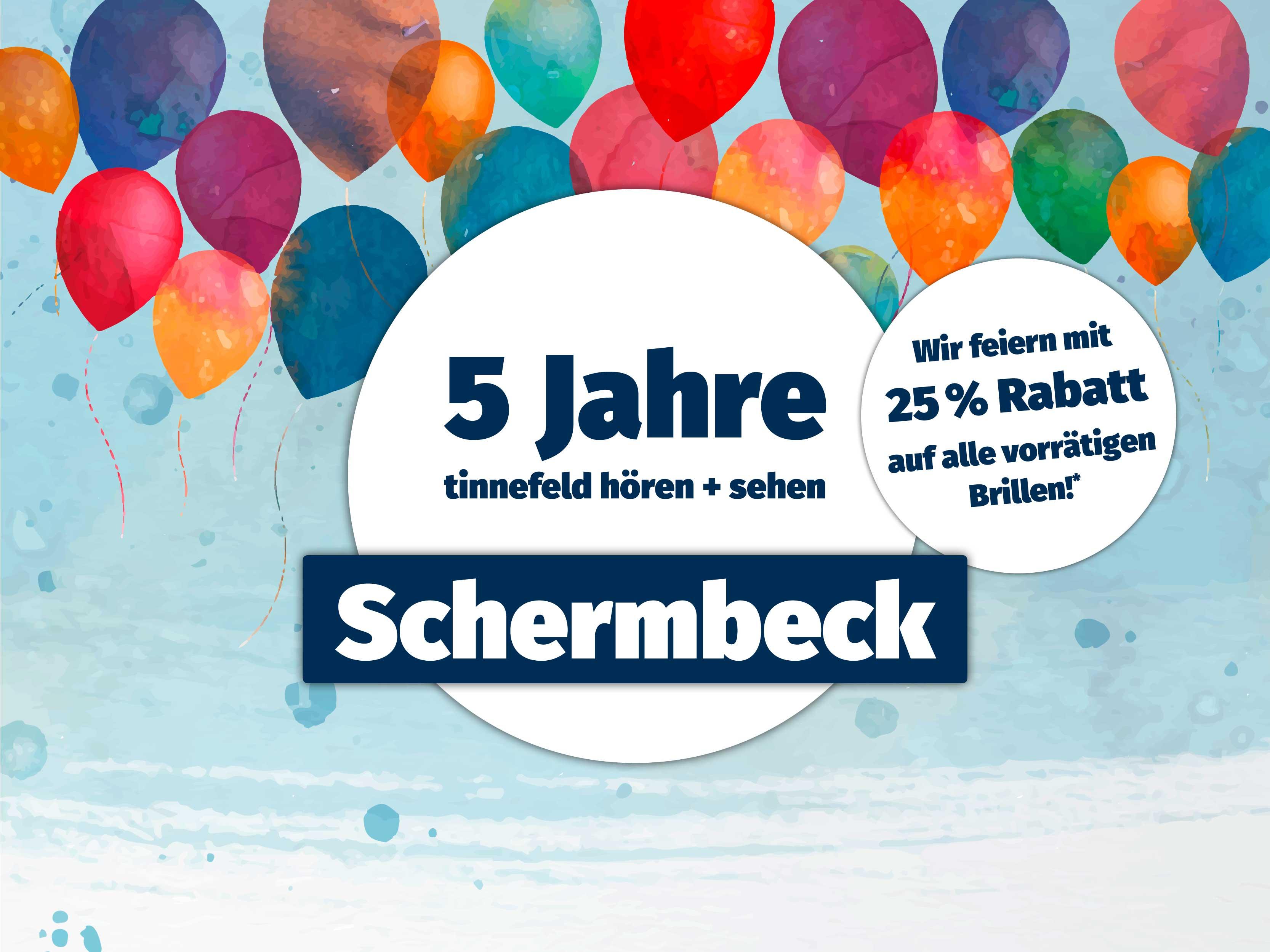 5 Jahre tinnefeld hören + sehen in Schermbeck!