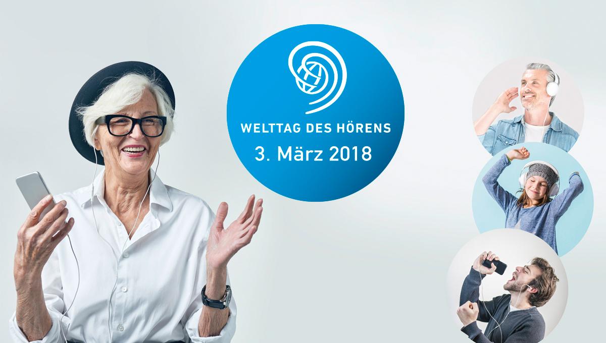 Welttag des Hörens!